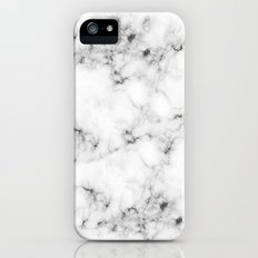 Real Marble Slim Case iPhone SE