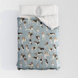 Tree Walker Coonhounds Pattern Comforters