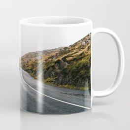 Misty Lonely Road Coffee Mug