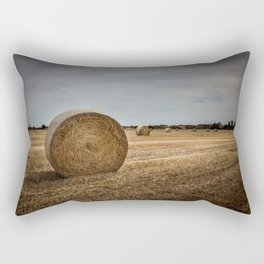 Bales of hay Rectangular Pillow
