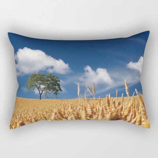 summer cereals sun Rectangular Pillow
