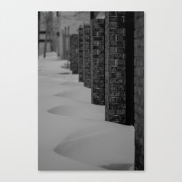 It's Brick Canvas Print