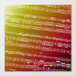 Concerto for Double Bass Canvas Print