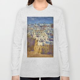 Albufeira citadel houses Long Sleeve T-shirt