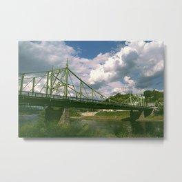 PA Bridge Metal Print