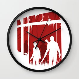 The last of the peopl Wall Clock