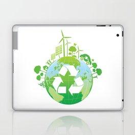 Green Planet Laptop & iPad Skin