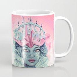 Tsuru Origami Girl Coffee Mug