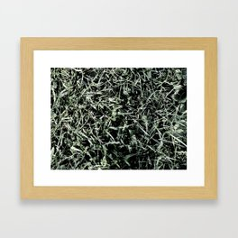 Turf Framed Art Print