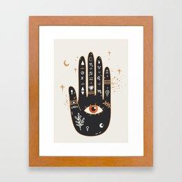 Palmistry 5 Framed Art Print