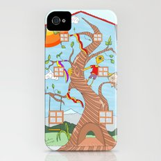 Childhood on a wall Slim Case iPhone (4, 4s)