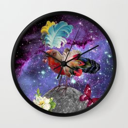 STEAMPUNK BIRD  Wall Clock