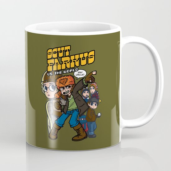 Scut Farkus vs. The World Mug