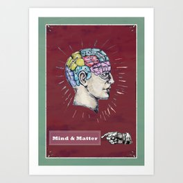 Mind and Matter. Art Print