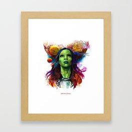 Gamora Framed Art Print