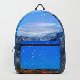 Mountain sky long exposure Backpack