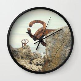 Peine del Viento Wall Clock