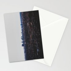 Los Angeles in fog Stationery Cards