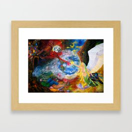 Marriage of Heaven and Hell Framed Art Print