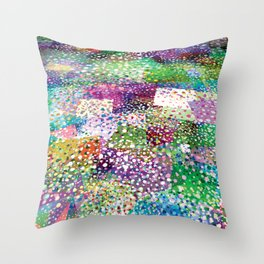 Rainbow Terra Firma Throw Pillow