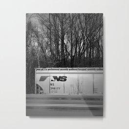 Train Car in Elkin, NC Metal Print