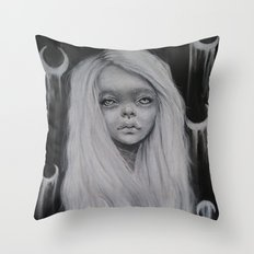 Moonchild Throw Pillow