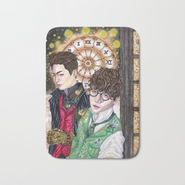 The Steampunk Twins Bath Mat