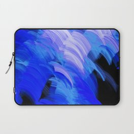 Abstract Broad Brushstrokes Design Laptop Sleeve