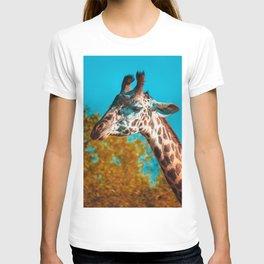 Gentle Giraffe Photograph T-shirt