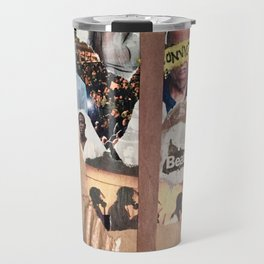 who's in charge? Travel Mug
