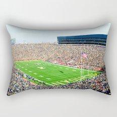 Michigan Stadium Rectangular Pillow