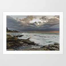 Stormy Morning  Art Print