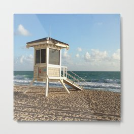 Lifeguard Stand II Metal Print