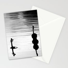 Submerged Strings Stationery Cards