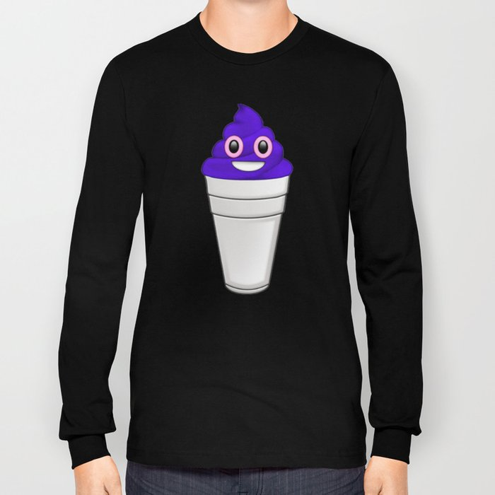 Pop Emoji Long Sleeve T-shirt