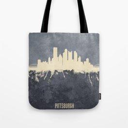 Pittsburgh Pennsylvania Skyline Tote Bag