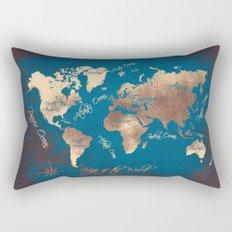 world map 27 Rectangular Pillow