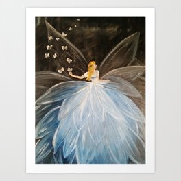 The Butterfly Fairy Art Print