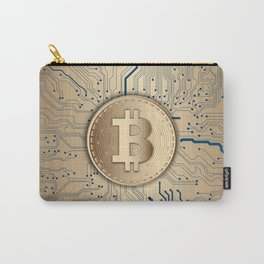 Bitcoin money gold Carry-All Pouch