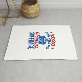 2020 100 Years of Women's Suffrage Rug