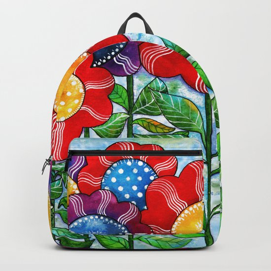 Happiest Flowers Backpack
