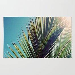 Sunny Palm Tree Rug