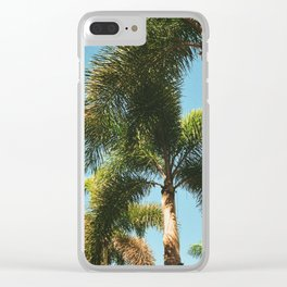 Line of Palms Clear iPhone Case