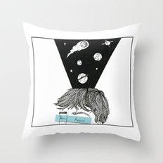 I see Galaxies Throw Pillow