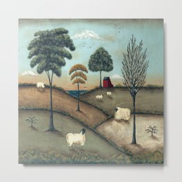 To Everything There is a Season by Donna Atkins Metal Print