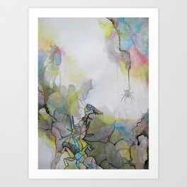 Insect Love Art Print