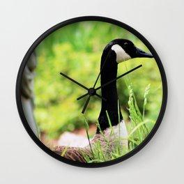 Keep Watch Wall Clock