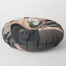 Rusty Road Floor Pillow
