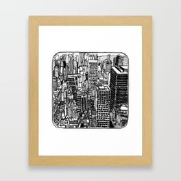 Back In The NYC Framed Art Print