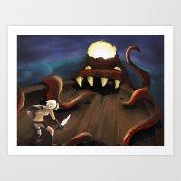 octoship Art Print